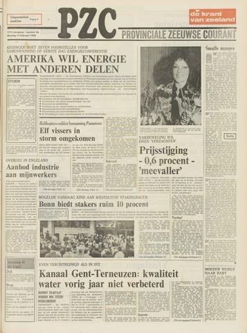Provinciale Zeeuwse Courant 1974-02-12