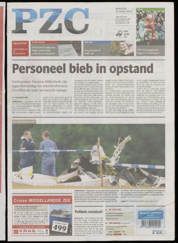 Provinciale Zeeuwse Courant 2013-10-21