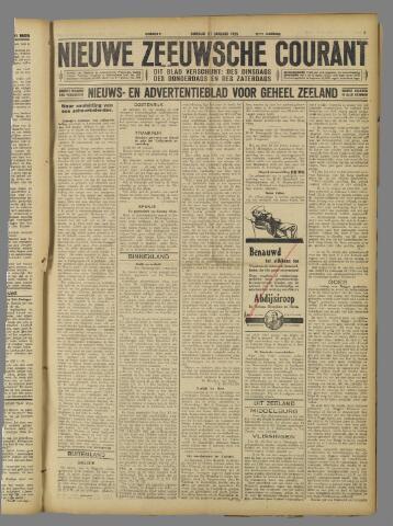 Nieuwe Zeeuwsche Courant 1925-01-27