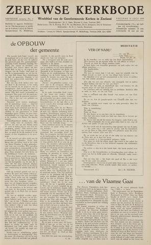 Zeeuwsche kerkbode, weekblad gewijd aan de belangen der gereformeerde kerken/ Zeeuwsch kerkblad 1959-07-31