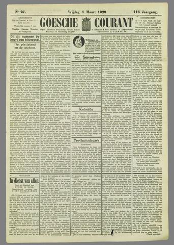 Goessche Courant 1929-03-01