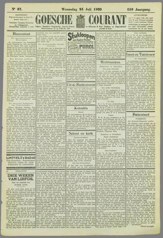 Goessche Courant 1929-07-24
