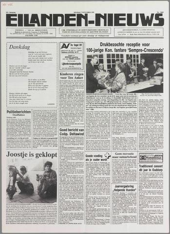 Eilanden-nieuws. Christelijk streekblad op gereformeerde grondslag 1989-11-07