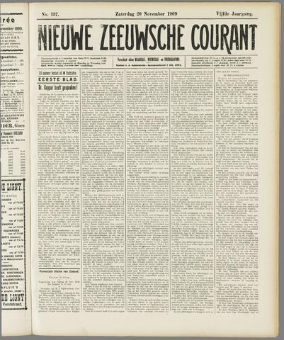 Nieuwe Zeeuwsche Courant 1909-11-20
