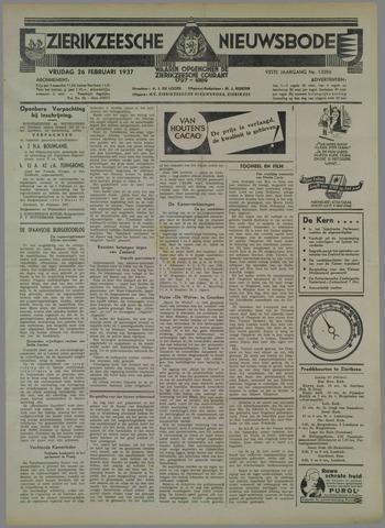 Zierikzeesche Nieuwsbode 1937-02-26