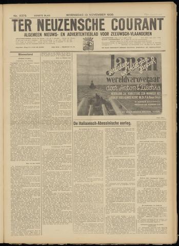 Ter Neuzensche Courant. Algemeen Nieuws- en Advertentieblad voor Zeeuwsch-Vlaanderen / Neuzensche Courant ... (idem) / (Algemeen) nieuws en advertentieblad voor Zeeuwsch-Vlaanderen 1935-11-13