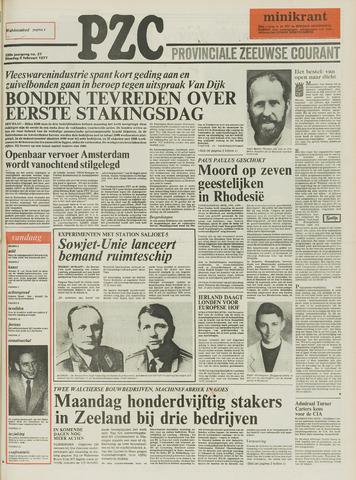 Provinciale Zeeuwse Courant 1977-02-08