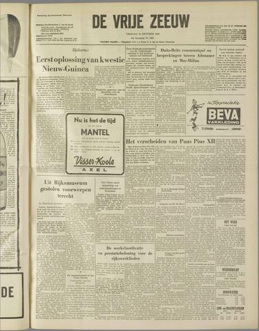 de Vrije Zeeuw 1958-10-10