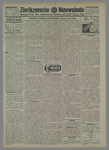 Zierikzeesche Nieuwsbode 1934-02-12