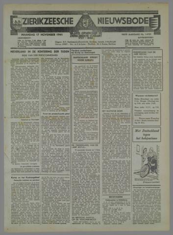 Zierikzeesche Nieuwsbode 1941-10-21