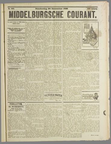 Middelburgsche Courant 1925-12-24