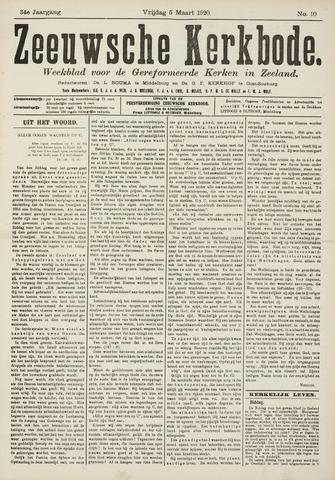 Zeeuwsche kerkbode, weekblad gewijd aan de belangen der gereformeerde kerken/ Zeeuwsch kerkblad 1920-03-05