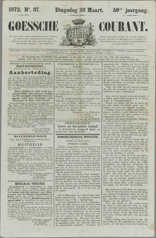 Goessche Courant 1872-03-26