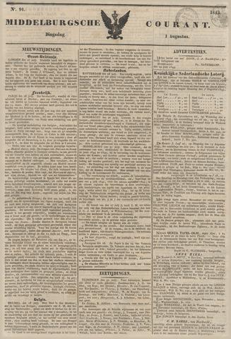 Middelburgsche Courant 1843-08-01