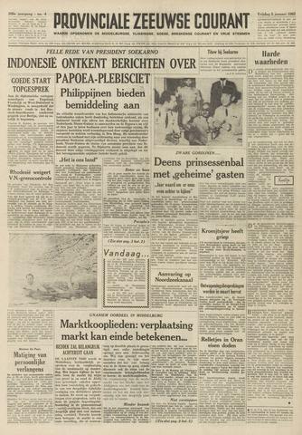 Provinciale Zeeuwse Courant 1962-01-05