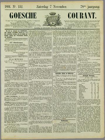 Goessche Courant 1891-11-07