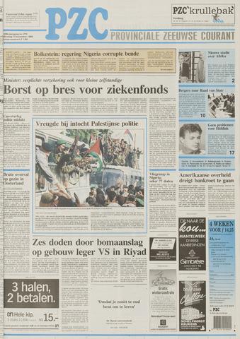Provinciale Zeeuwse Courant 1995-11-14
