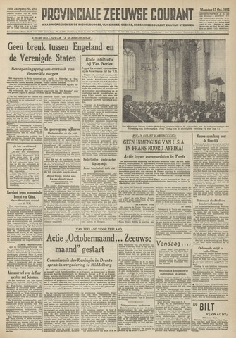 Provinciale Zeeuwse Courant 1952-10-13