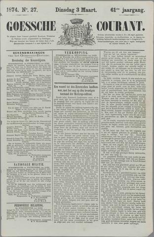 Goessche Courant 1874-03-03