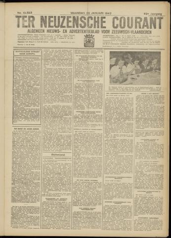 Ter Neuzensche Courant. Algemeen Nieuws- en Advertentieblad voor Zeeuwsch-Vlaanderen / Neuzensche Courant ... (idem) / (Algemeen) nieuws en advertentieblad voor Zeeuwsch-Vlaanderen 1942-01-26