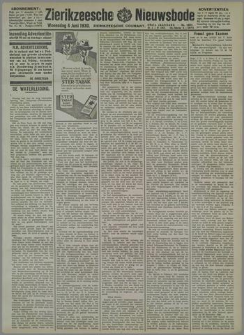 Zierikzeesche Nieuwsbode 1930-06-04
