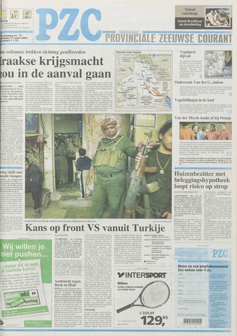 Provinciale Zeeuwse Courant 2003-03-27