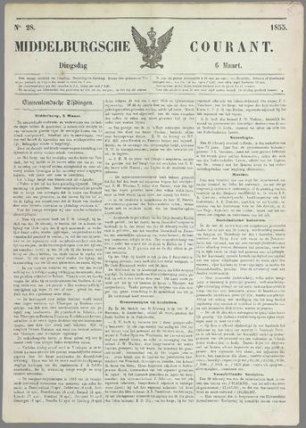 Middelburgsche Courant 1855-03-06