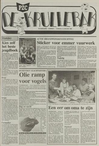Provinciale Zeeuwse Courant katern Krullenbak (1981-1999) 1988-01-12