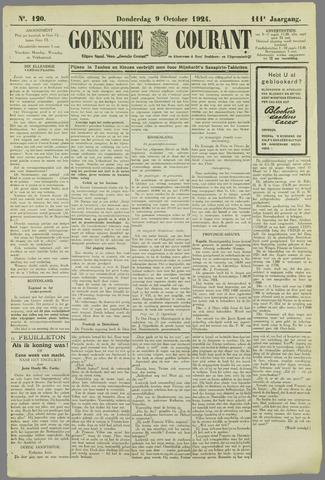 Goessche Courant 1924-10-09