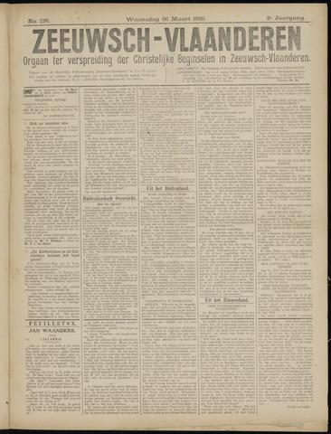Luctor et Emergo. Antirevolutionair nieuws- en advertentieblad voor Zeeland / Zeeuwsch-Vlaanderen. Orgaan ter verspreiding van de christelijke beginselen in Zeeuwsch-Vlaanderen 1919-03-26