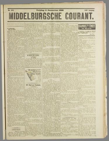 Middelburgsche Courant 1925-12-11