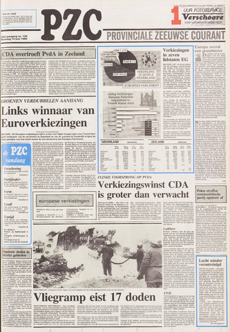 Provinciale Zeeuwse Courant 1989-06-19