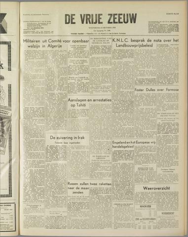 de Vrije Zeeuw 1958-10-15