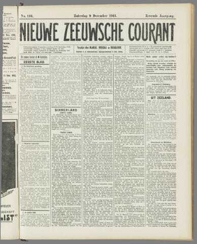 Nieuwe Zeeuwsche Courant 1911-12-09
