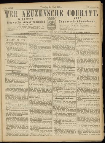 Ter Neuzensche Courant. Algemeen Nieuws- en Advertentieblad voor Zeeuwsch-Vlaanderen / Neuzensche Courant ... (idem) / (Algemeen) nieuws en advertentieblad voor Zeeuwsch-Vlaanderen 1904-05-14