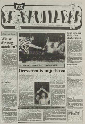 Provinciale Zeeuwse Courant katern Krullenbak (1981-1999) 1987-11-10