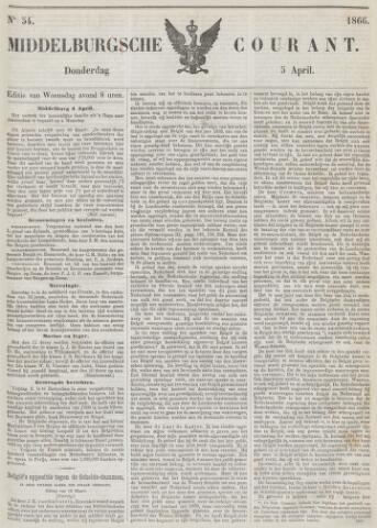 Middelburgsche Courant 1866-04-05