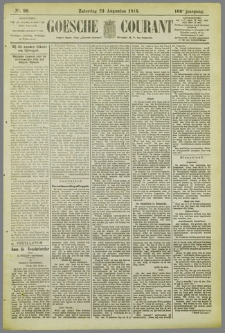 Goessche Courant 1919-08-23