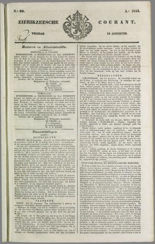 Zierikzeesche Courant 1844-08-16
