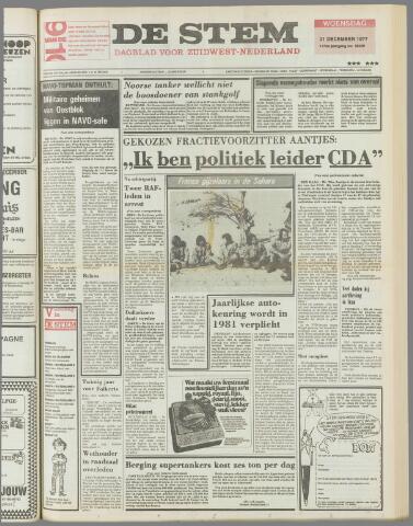 de Stem 1977-12-21