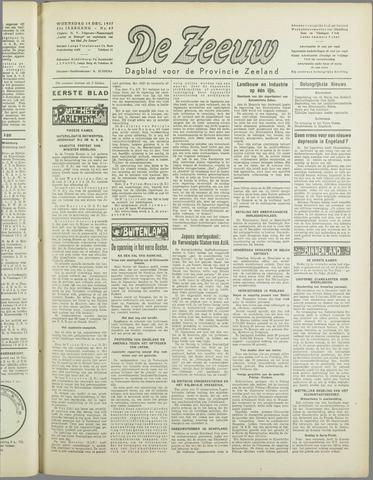 De Zeeuw. Christelijk-historisch nieuwsblad voor Zeeland 1937-12-15