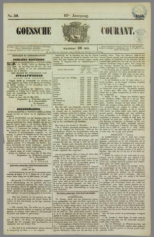 Goessche Courant 1856-05-26