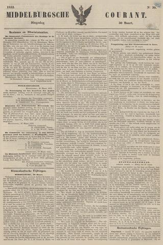 Middelburgsche Courant 1852-03-30