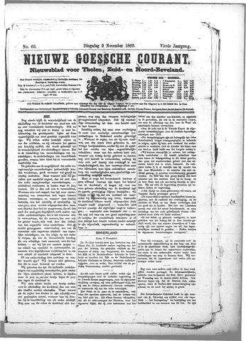 Nieuwe Goessche Courant 1869-11-09