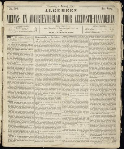 Ter Neuzensche Courant. Algemeen Nieuws- en Advertentieblad voor Zeeuwsch-Vlaanderen / Neuzensche Courant ... (idem) / (Algemeen) nieuws en advertentieblad voor Zeeuwsch-Vlaanderen 1871