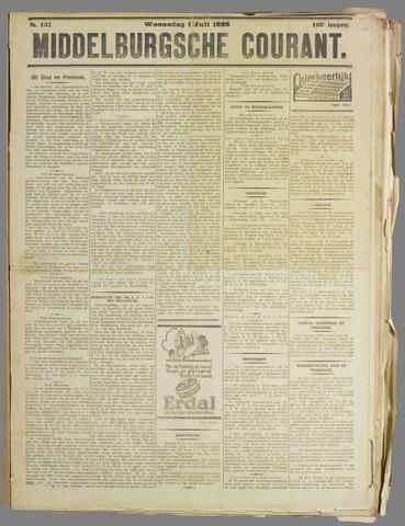 Middelburgsche Courant 1925-07-01