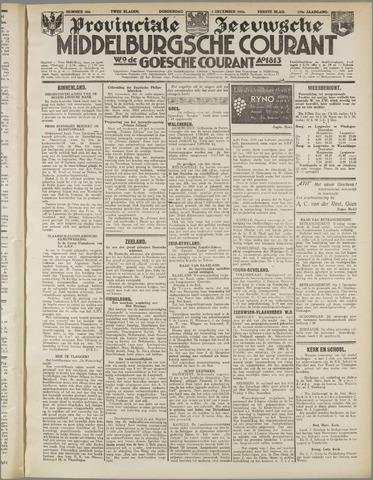 Middelburgsche Courant 1936-12-03