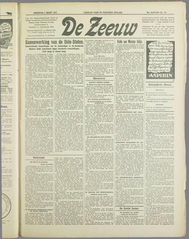 De Zeeuw. Christelijk-historisch nieuwsblad voor Zeeland 1937-03-04