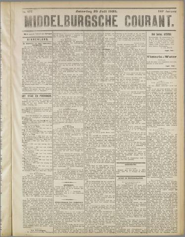 Middelburgsche Courant 1922-07-29