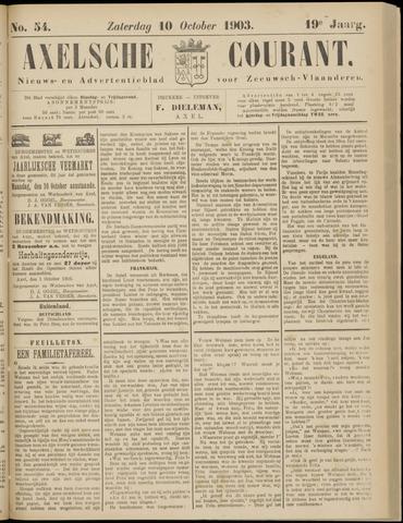 Axelsche Courant 1903-10-10